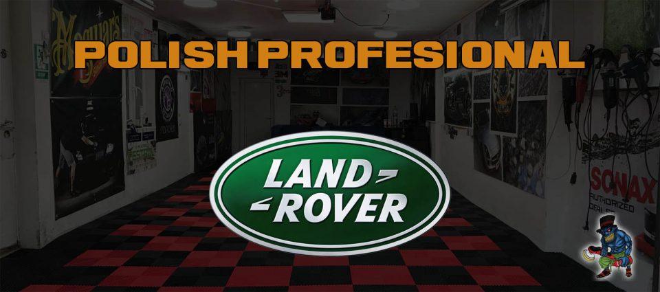 polish profesional range rover